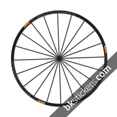 Mavic Crossmax SL Stickers kit - bkstickers.com