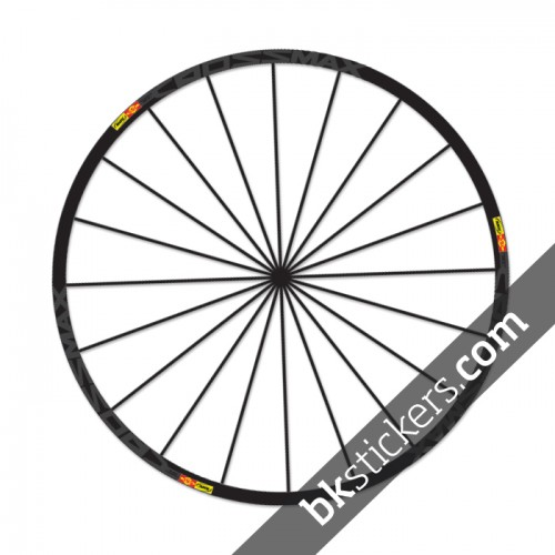 Mavic Crossmax SL Stickers kit - bkstickers.com