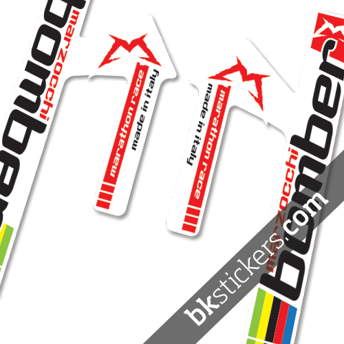 Marzocchi marathon race bkstickers custom fork stickers