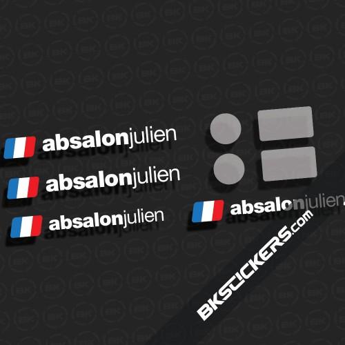 Nome do Ciclista Small Pack D - bkstickers.com