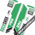 Rockshok Pike 2015 - Bksticker fork stickers