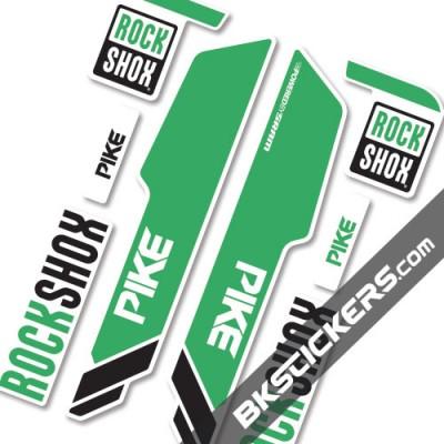 Rockshok Pike 2015 - Bksticker fork stickers