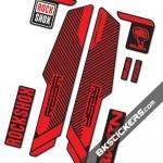 Rockshox RS Reba Brain - Bkstickers fork stickers
