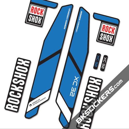 Rockshox CX 32 - Bkstickers fork stickers