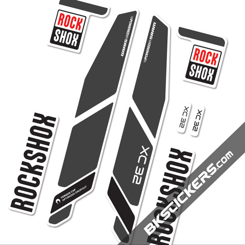 Rockshox CX 32 - Bkstickers fork stickers