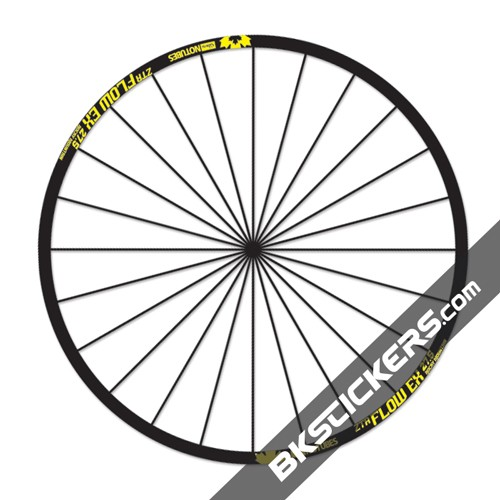ZTR Flow EX Rocky Mountain decals kit - bkstickers.com