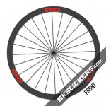 ENVE SES 3.4 CARBON FIBER ROAD Stickers kit