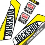 Rockshox Pike 2016 - Bkstickers fork stickers