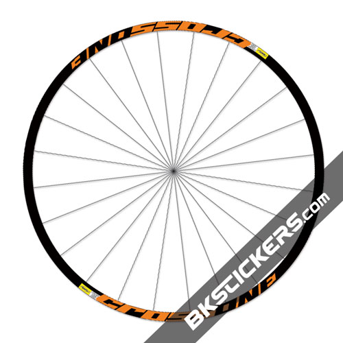 Mavic Crossone Stickers kit - Orange