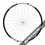 Mavic Crossone Stickers kit - white
