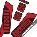 Rockshox REBA 2015 Stickers Kit Black Forks - bkstickers.com