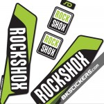 Rockshox SID 2015 Stickers Kit Black Forks