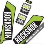 Rockshox SID 2015 Stickers Kit Black Forks - bkstickers.com