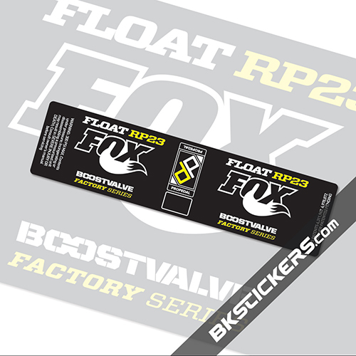 Fox Float RP23 Stickers kit Rear Shocks
