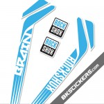 Rockshox RS-1 Brain Stickers kit Forks - bkstickers.com