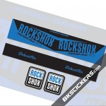 Rockshox Monarch Plus RC3 Stickers kit Rear Shocks