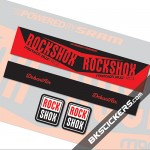 Rockshox Monarch Plus RC3 Stickers kit Rear Shocks