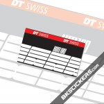 DT SWISS XM180 Stickers kit Rear Shocks