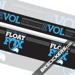 FOX Factory Float Evol Stickers Kit Rear Shock