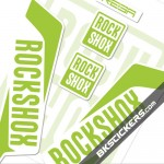 Rockshox REBA 2016 Stickers Kit White Forks
