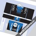 BOS VOID 2015 Stickers Kit Rear Shock - bkstickers.com
