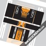 BOS VOID 2016 Stickers Kit Rear Shock - bkstickers.com