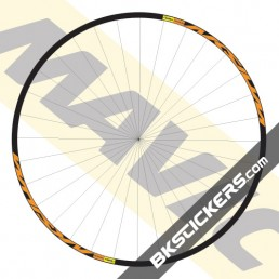 Mavic Aksium Decals kit - bkstickers.com