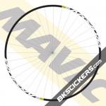 Mavic Aksium Decals kit - bkstickers.com