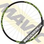 Mavic Crossride 2016 Stickers kit - blstickers.com