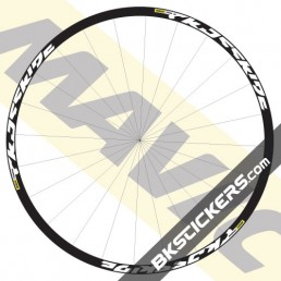 Mavic Crossride 2016 stickers kit - bkstickers.com