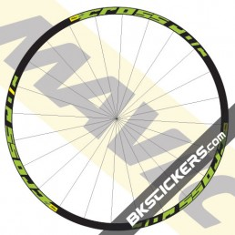 Mavic Crossroc Decals kit - bkstickers.com
