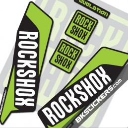 Rockshox Revelation 2016 Decals Kit Black Forks bkstickers