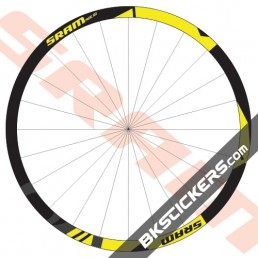 SRAM Rise 60 Decals Kits - Bkstickers.com