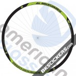 American Classic All Mountain 29er Decals Kit - bkstickers