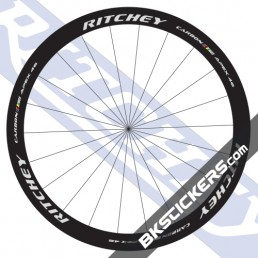 Ritchey WCS Apex 46 Carbon Decals kit - bkstcikers.com