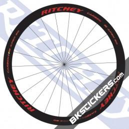 Ritchey WCS Apex 60 Carbon Decals kit - bkstickers.com
