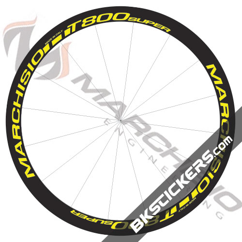 Marchisio T800 Super 38mm Decals Kit - bkstickers.com