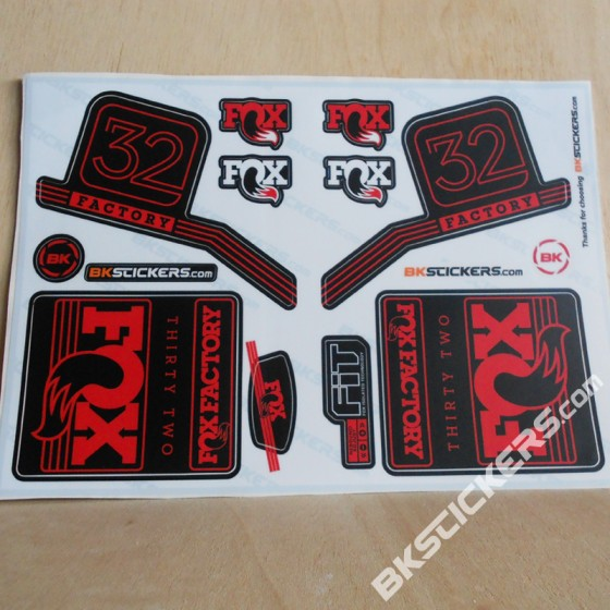 FOX-FACTORY-32-2016-STICKERS-KIT-BLACK-FORKS-red