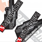 Marzocchi 888 Decals Black Forks Kit - bkstickers.com