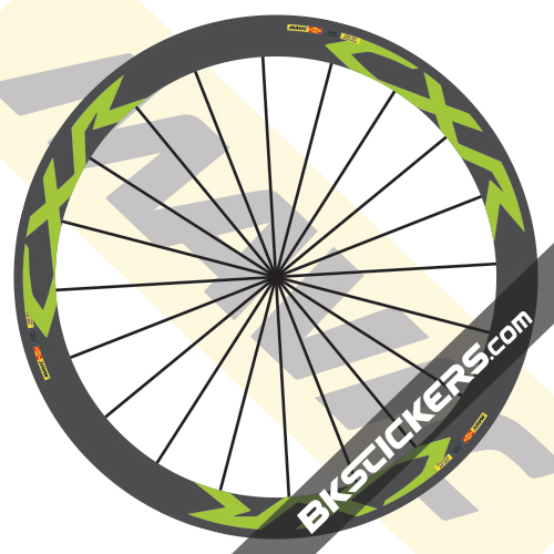 Mavic CXR Ultimate 60 Decals kit - bkstickers.com