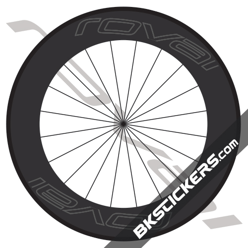 Roval Carbon 90mm Decals kit - bkstickers.com