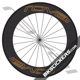 Roval Carbon 90mm Decals kit - bkstickers.com