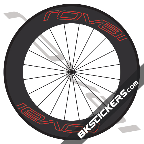 Roval Carbon 90 Decals kit - bkstickers.com