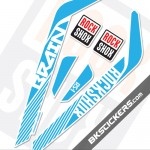 Rockshox RS-1 Brain 2014 Decals Kits - bkstickers.com