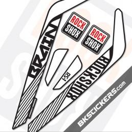 Rockshox RS-1 Brain 2014 Decals Kits - bkstickers.com