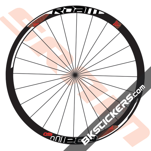 SRAM Roam 60 Decals Kits - bkstickers.com