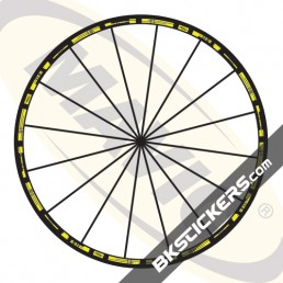 Mavic R-Sys Decals kit - bkstickers.com