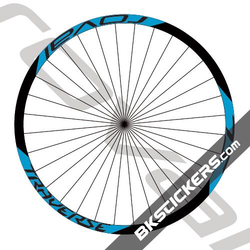 Roval Traverse SL Decals kit - bkstickers.com
