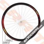 SRAM Roam 50 Decals Kits - bkstickers.com