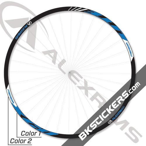 Alexrims Merida XCD Lite Decals Kit - Custom BKstickers.com